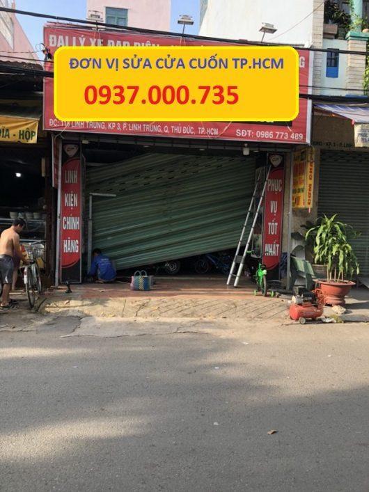 Thợ sửa cửa cuốn quận 6 - sửa chữa cửa cuốn 24h - sua cua cuon ngoai gio tai tp.hcm