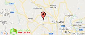 bản đồ huyện củ chi trên google map