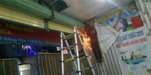 Sửa chữa cửa cuốn tại quận Bình Tân