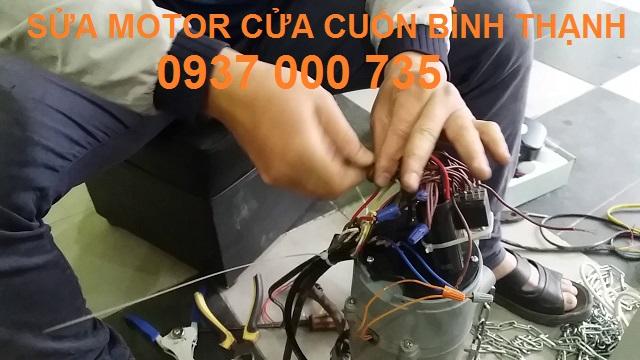 sửa chữa motor cửa cuốn bình thạnh tp hcm