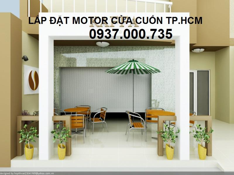 LẮP ĐẶT MOTOR CỬA CUỐN JG ĐẸP NHẤT TP HCM