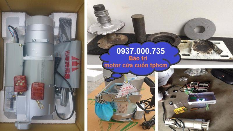 Đơn vị sửa chữa motor cửa cuốn tại tp.hcm