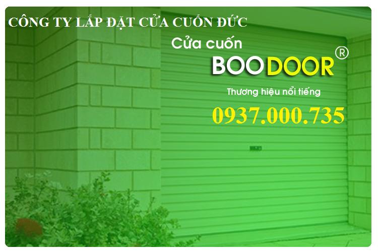 Công ty lắp đặt cửa cuốn đức tại tphcm, lap dat cua cuon boodoor 730 tai tphcm