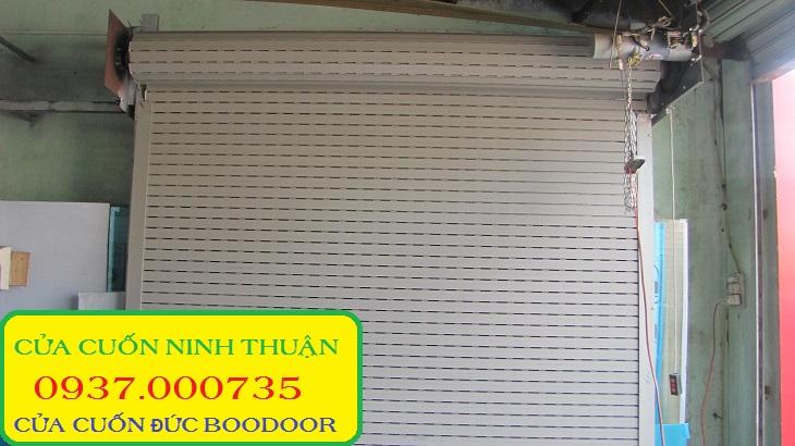 Cung cấp cua cuon duc boodoor 745 tại tphcm và các tỉnh, cửa cuốn đức boodoor 745, cửa cuốn nhôm bảng cong 2 lớp