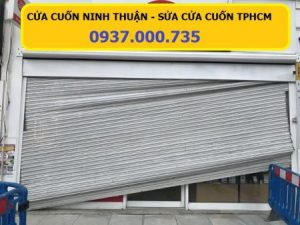 Dịch vụ sửa cửa cuốn tại tphcm, sửa cửa cuốn nhanh, broken shutter door