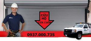 Thợ sửa cửa cuốn tphcm - cửa cuốn 24h - uy tín chất lượng - broken shutter door