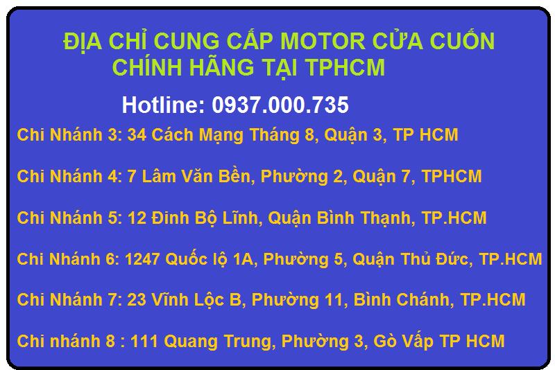 Địa chỉ cung cấp motor ống giá rẻ cửa cuốn engines 100n, 120n, 230n, 300n uy tín, chính hãng tại tp.hcm