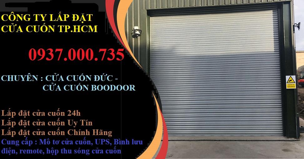 Lắp đặt cửa cuốn đức quận 3 chính hãng, lắp đặt cửa cuốn boodoor 730