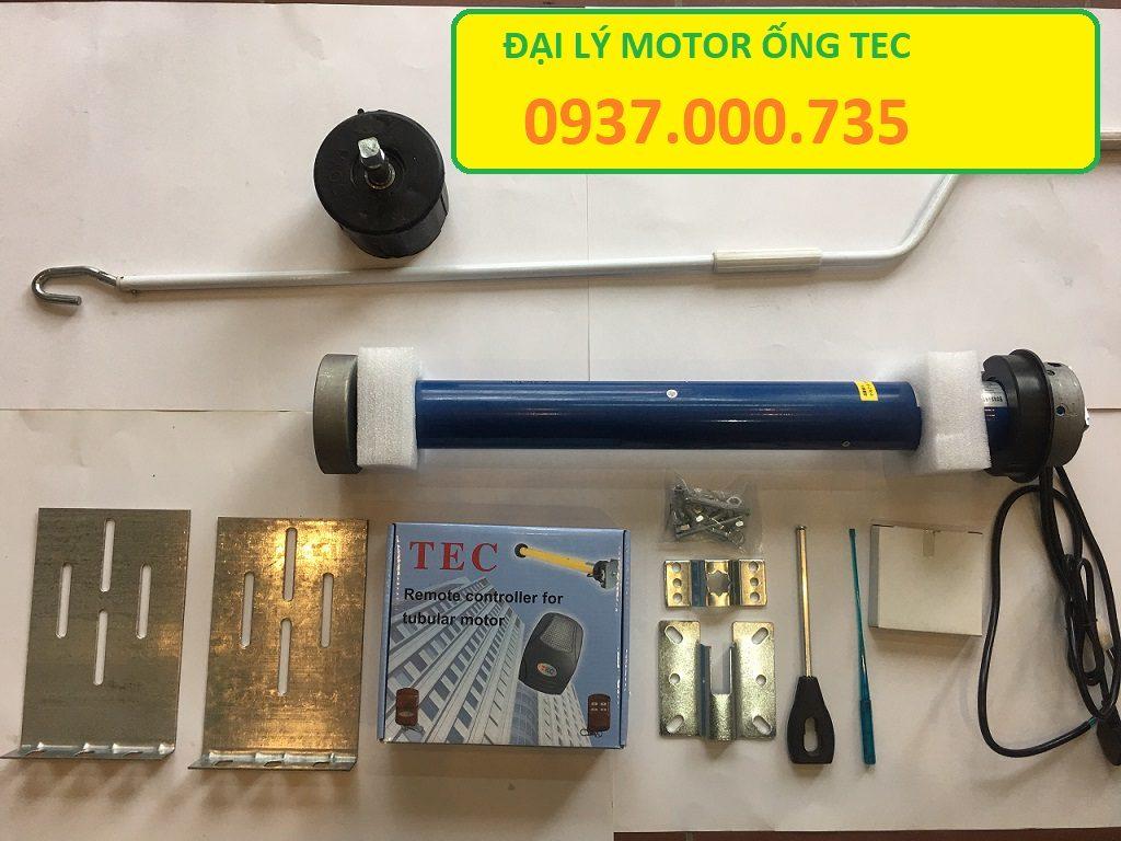 MOTOR ỐNG TEC, TEC 50N, TEC 100N, TEC 120N, TEC 230N, Đại lý phân phối mô tơ ống TEC