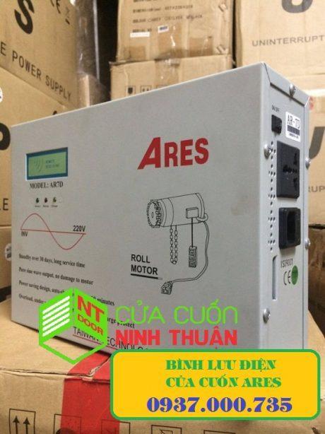 Bình tích điện cửa cuốn ARES, cung cấp, lắp đặt và sửa chữa bình điện cửa cuốn