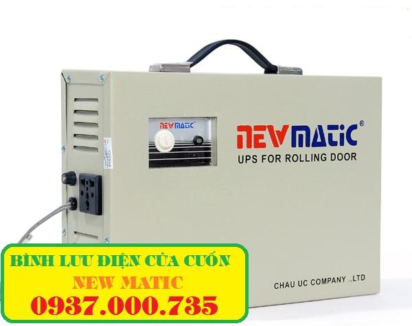 Bình trữ điện cửa cuốn NEWMATIC, sửa ups rolling door
