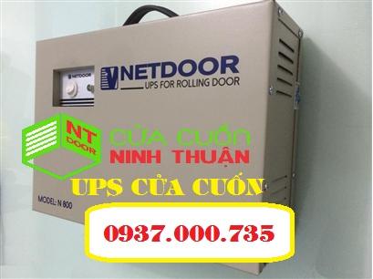 Bộ tích điện cửa cuốn Netdoor, UPS rolling door - cửa cuốn ninh thuận