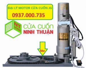 Trọn bộ motor cửa cuốn jg gồm 1 lắc, motor và 2 remote