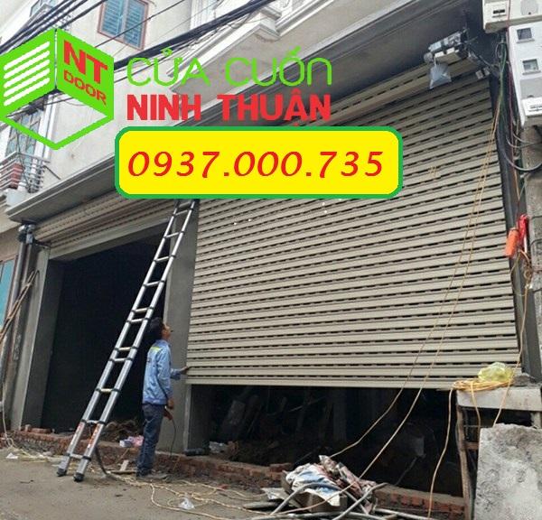 Lắp đặt cửa cuốn huyện Bình Tân tỉnh vĩnh long