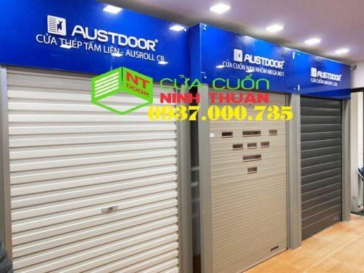 cửa cuốn austdoor, lắp đặt cua cuon austdoor mỹ tho