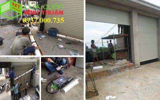 Hình ảnh sửa chữa cửa cuốn quận 4 ngoài giờ
