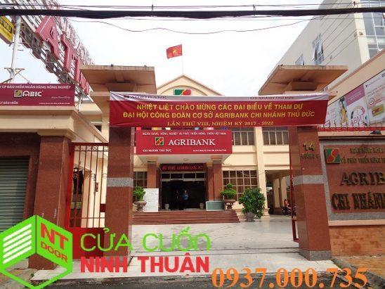 Sửa cửa cuốn ngân hàng quận Bình Thạnh