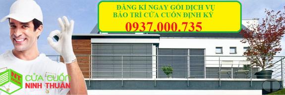 dịch vụ bảo trì cửa cuốn định kì tại tp.hcm